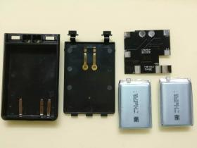 YAESU FT1D 对讲机电池组装