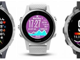 佳明手表ActiFace表盘设置中英文对照