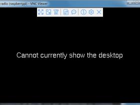 """树莓派显示""""cannot currently show the desktop"""""""