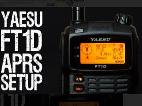 八重洲FT1D设置APRS教程