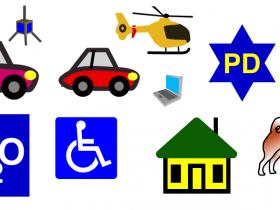 APRS符号集,高分辨率,矢量。