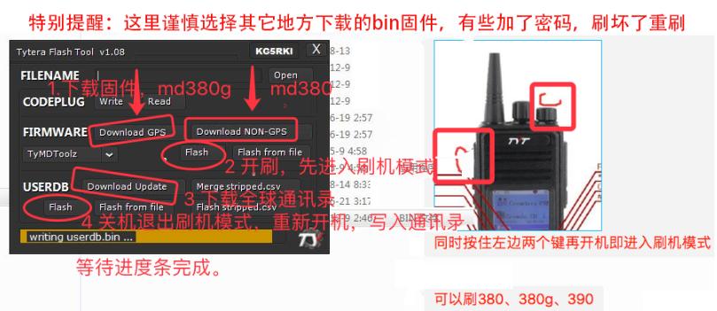 玩转TYT MD380/MD380G
