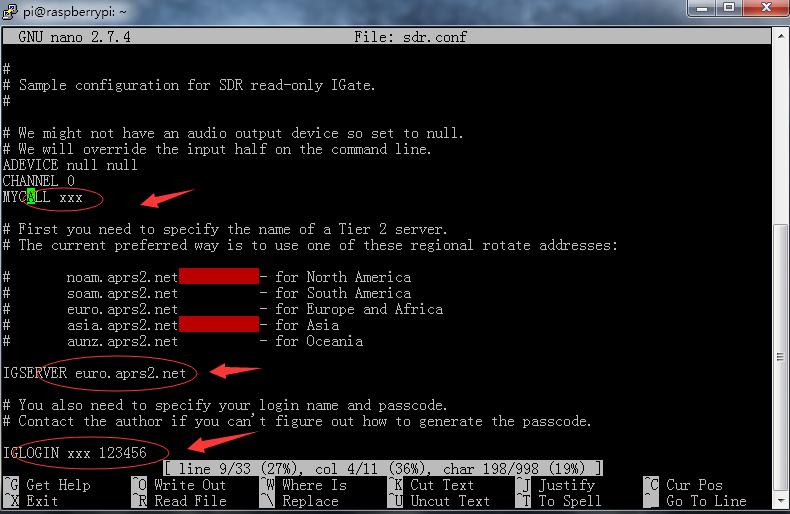 使用Raspberry Pi,RTL-SDR搭建APRS RX iGate指南