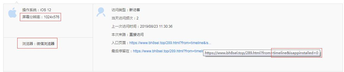 "百度统计入口页面""from=timeline&isappinstalled=0"""