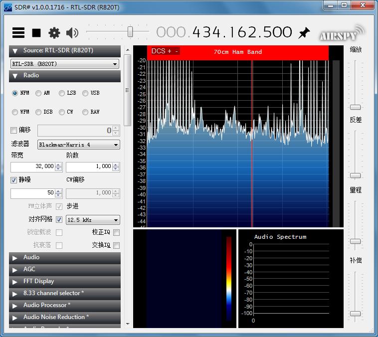使用SDR Dongle、 AFSK1200解码APRS信标